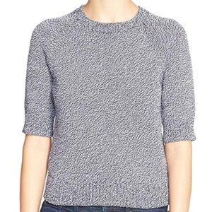 Theory - Marled Short Sleeve Sweater